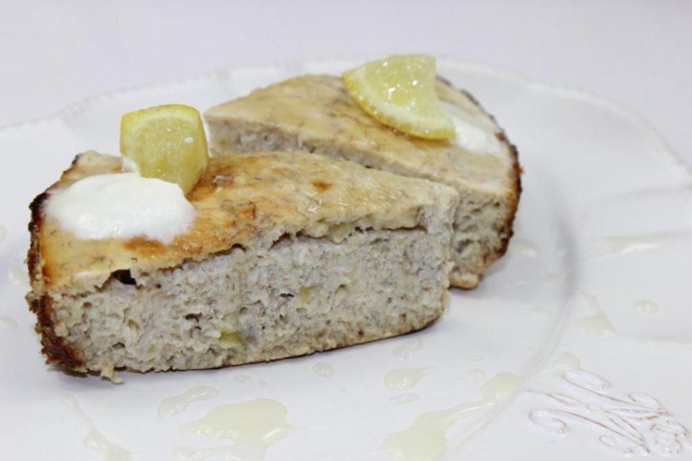 banánovo kokosový koláč recept