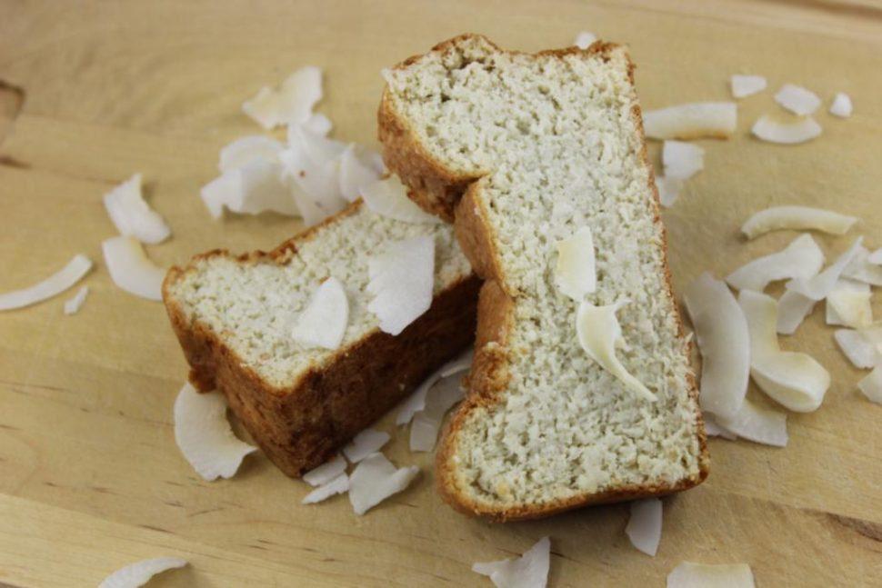 kokosový koláč ako chlebík