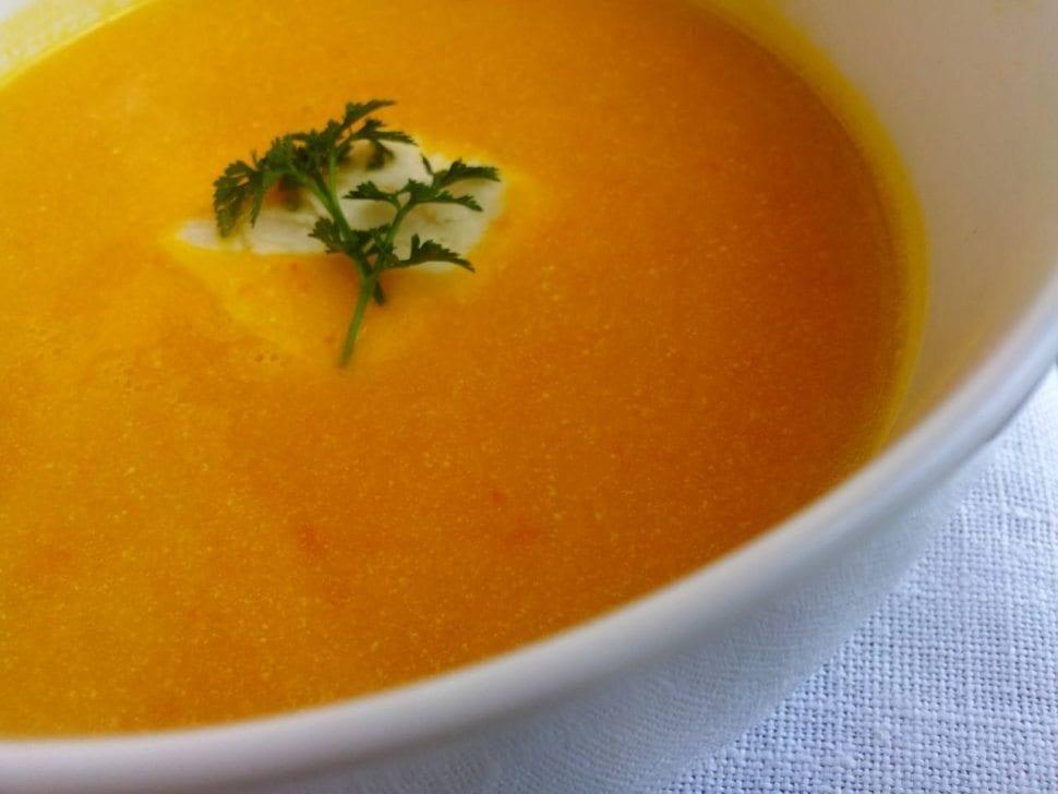 polievka z hokaido tekvice