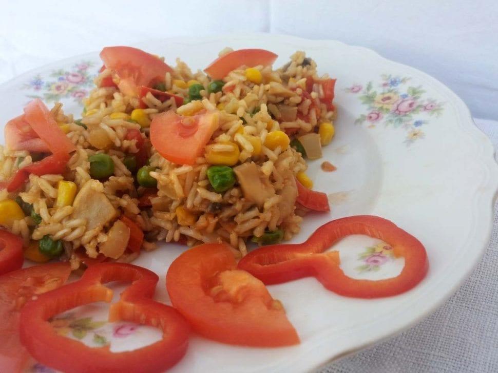 zdravé zeleninové rizoto recept