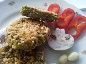 brokolicové fašírky pečené v rúre recept