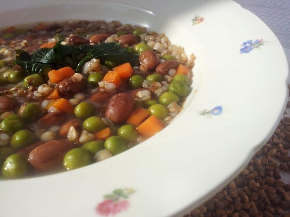 pohánková fazulova polievka