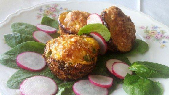 syrové muffiny bez múky