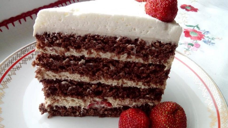 narodeninová orechová torta bez múky