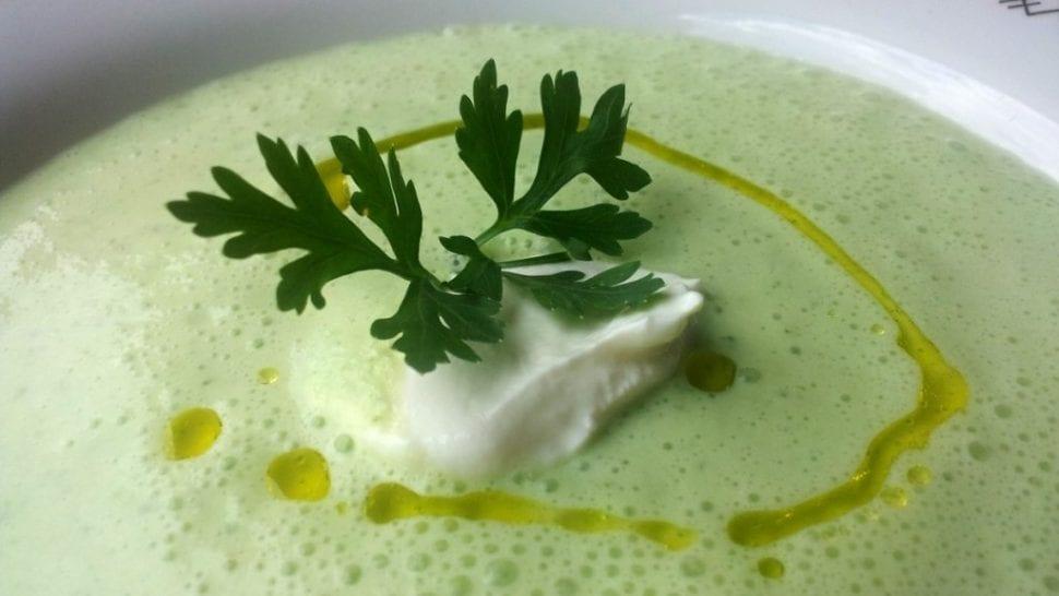 rýchla uhorkova polievka