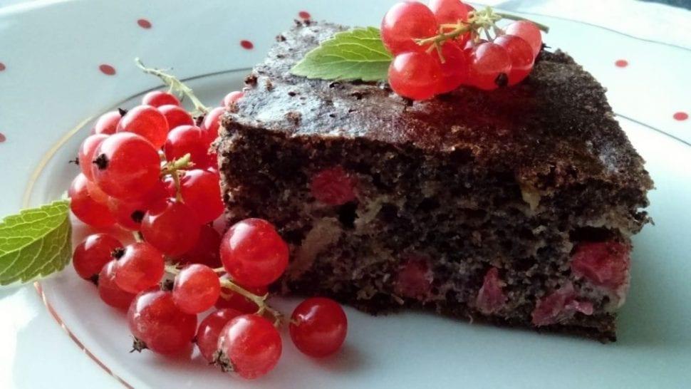 ríbezľová bublanina recept